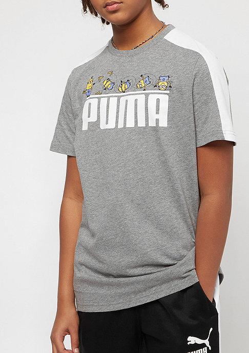 Puma Kids Minions medium gray heather