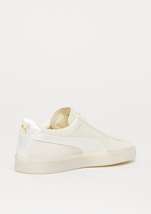 Puma Suede Classic Satin whisper white-metallic gold