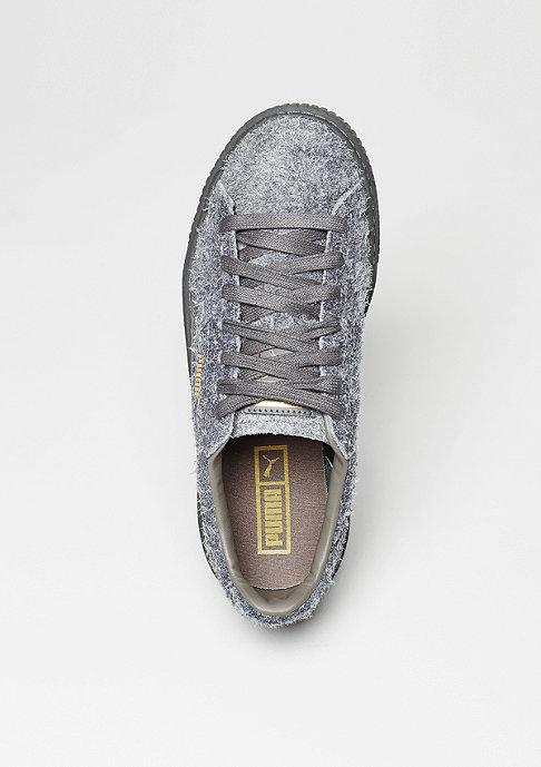 Puma Schuh Suede Platform Elemental steel grey/steel grey