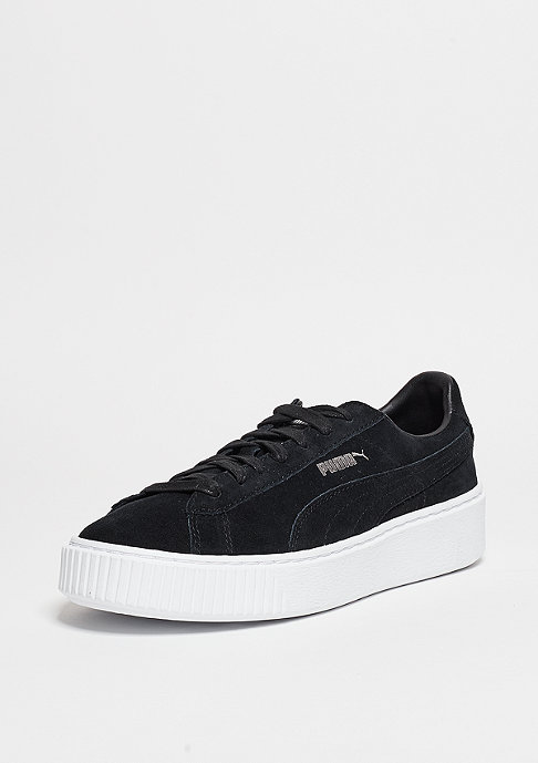 Puma Schuh Suede Platform puma black/puma white