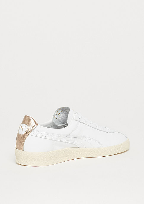 Puma Te-Ku Leather puma white-marshmallow-puma team gold