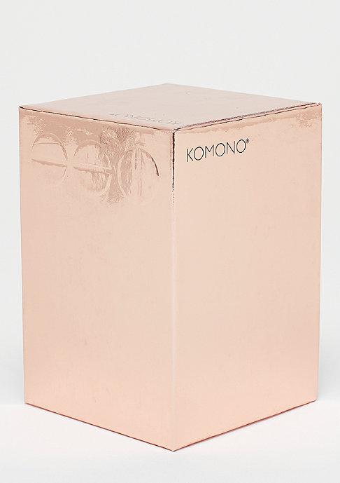 Komono Estelle Mirror rose gold/grey
