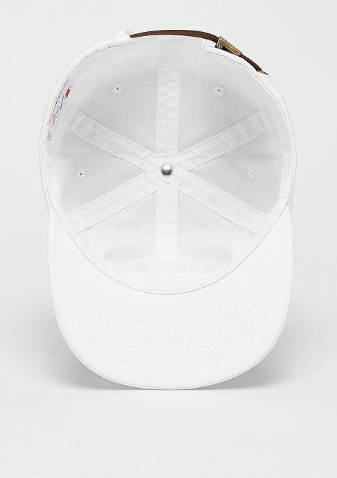 eS x Grizzly Deuce 6 Panel Cap white