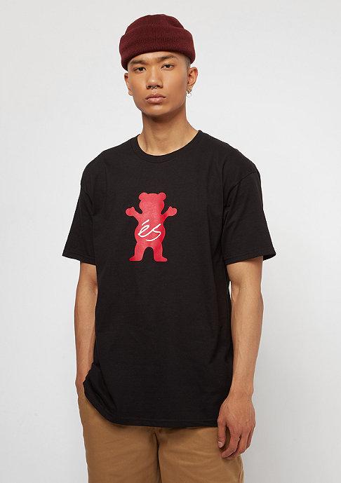 eS x Grizzly T-Shirt Deuce black