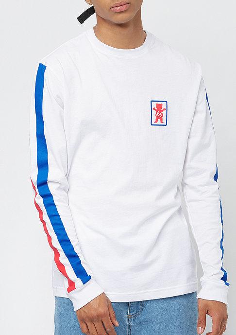 eS x Grizzly Raquet Longsleeve Shirt white