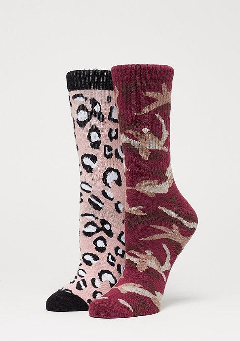 SNIPES 2 Pack AOP Socks multicolor