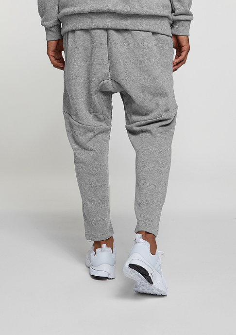 SNIPES Trainingshose Basic Cropped heather grey
