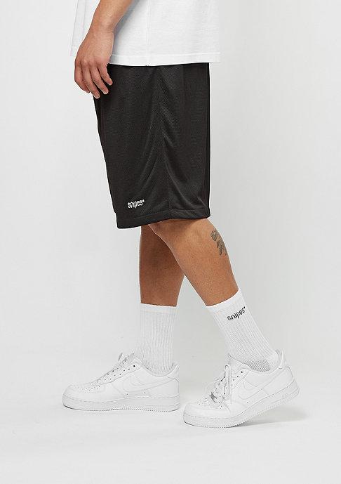 SNIPES Sport-Short Basic Mesh black