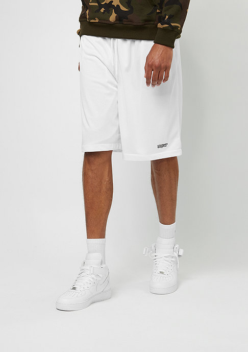 SNIPES Sport-Short Basic Mesh white
