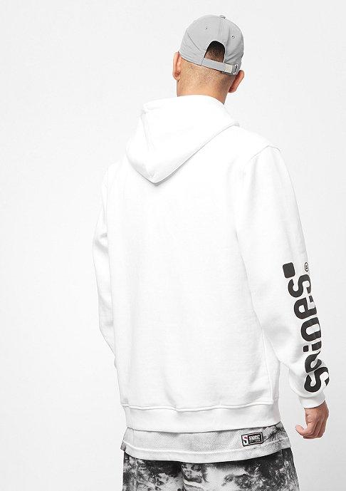 SNIPES Basic Sleeveprint white