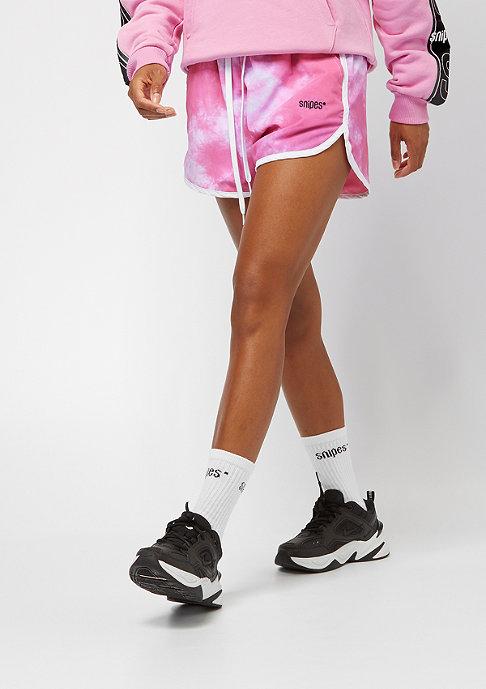 SNIPES Batic Shorts pink/white