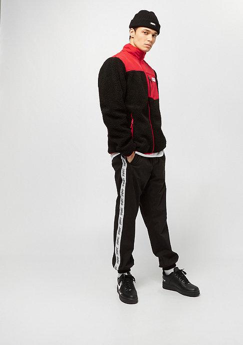 SNIPES Block Fleece black/red