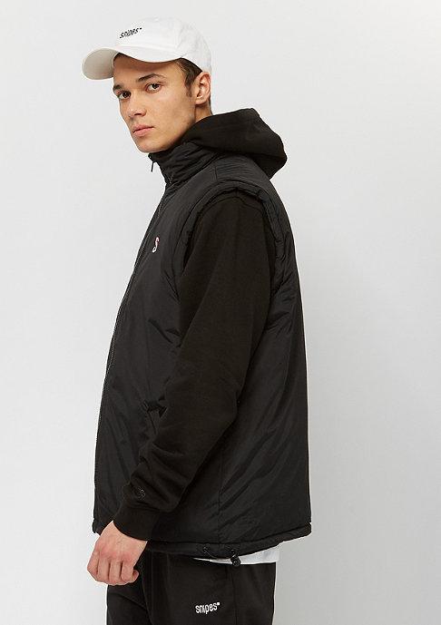 SNIPES Block Puffer Vest camouflage/black