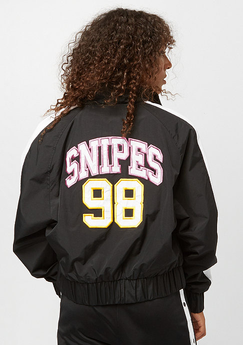 SNIPES Block Trackjacket black white pink