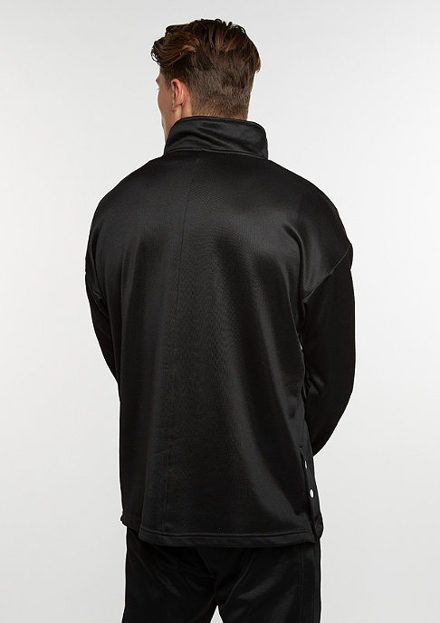 SNIPES Sweatshirt Block Troyer black/white/black