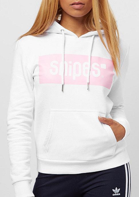 SNIPES Box Logo white/pink
