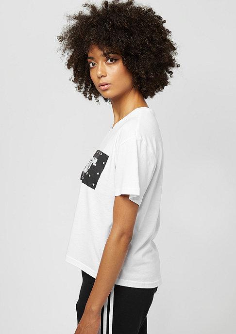 SNIPES Box Logo white/black