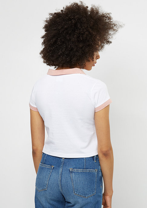 SNIPES Polo Cropped white