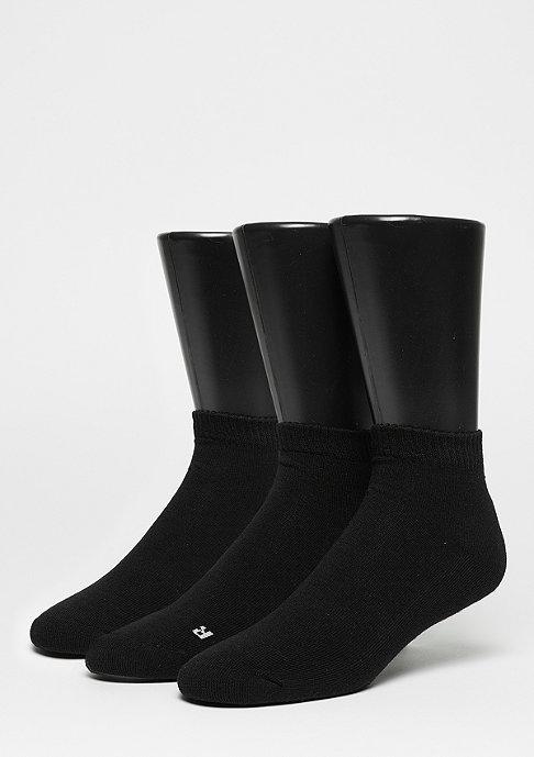SNIPES Sportsocke LoCut Socks 3er Pack black