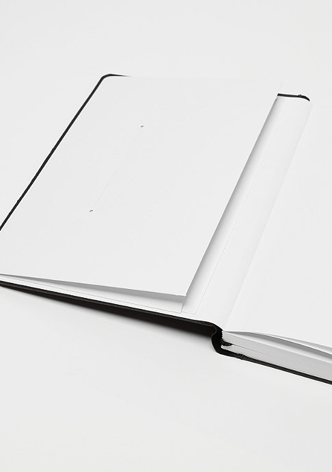 SNIPES Notebook A5 black