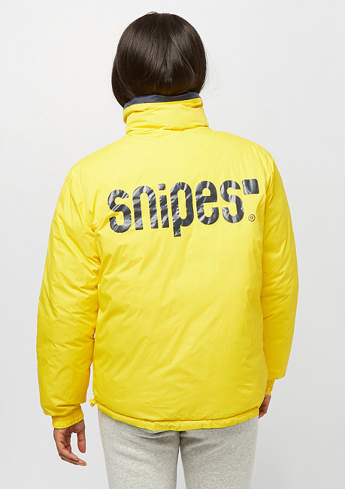 SNIPES Reversible Puffer navy/green/yellow