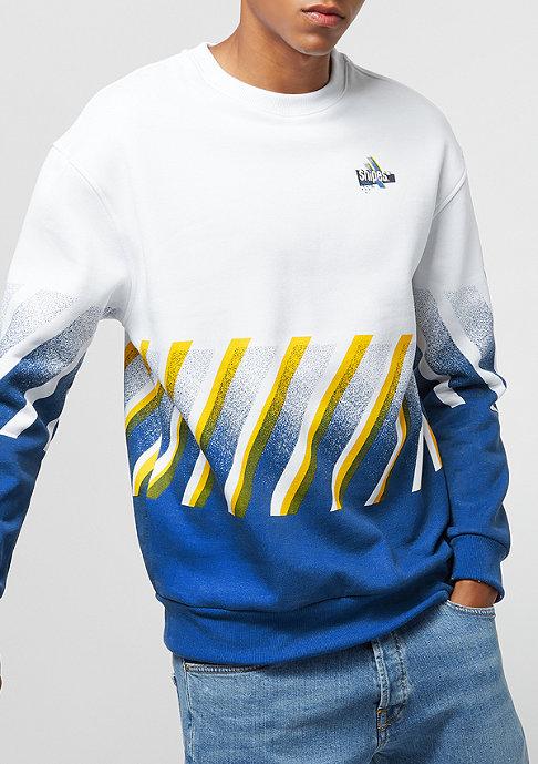 SNIPES SSNL Chest Logo white blue yellow