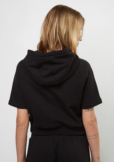 SNIPES Hooded-Sweatshirt Shortsleeve black