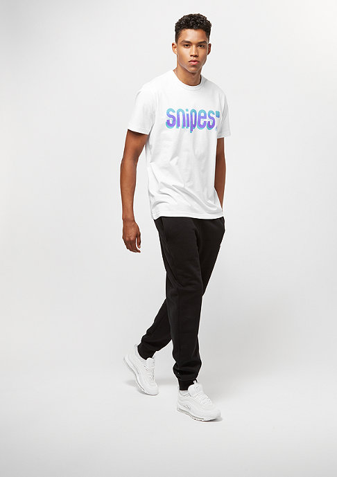 SNIPES Speckled Basic Logo white/turkise/purple