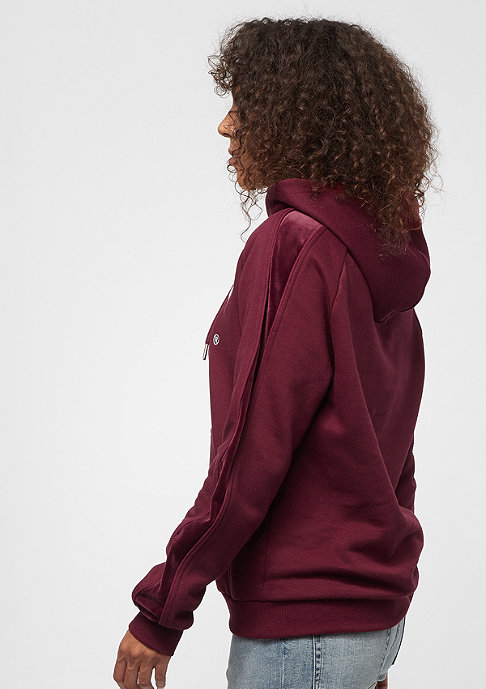 SNIPES Stripe Basic Logo bordeaux
