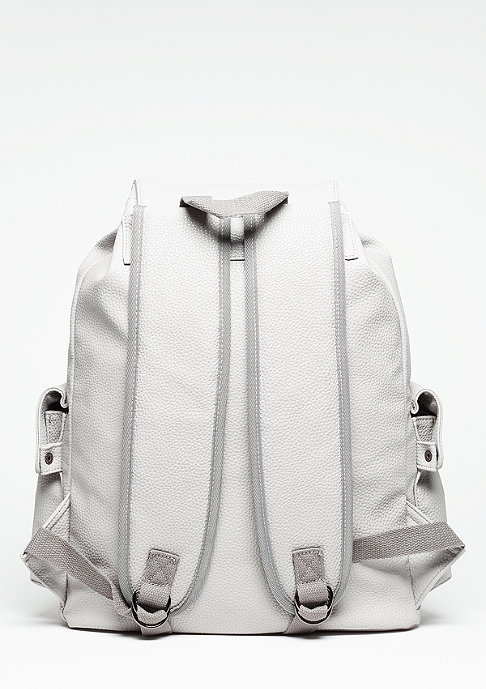 SNIPES Rucksack Tumbled Debossed grey