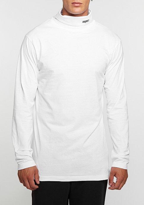 SNIPES Longsleeve Turtleneck white