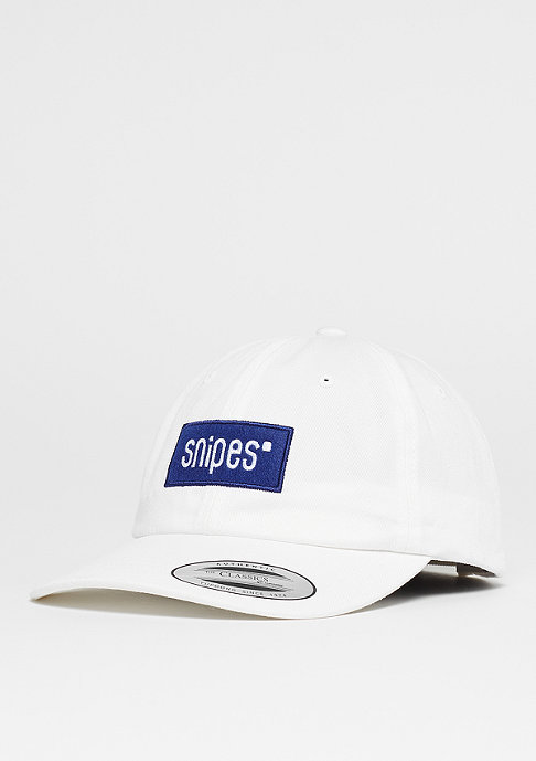 SNIPES Unstructured Box Logo white