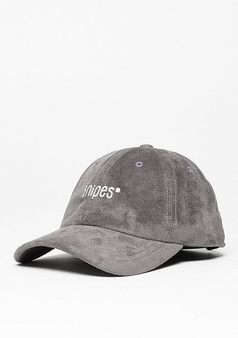 SNIPES Baseball-Cap Velours charcoal