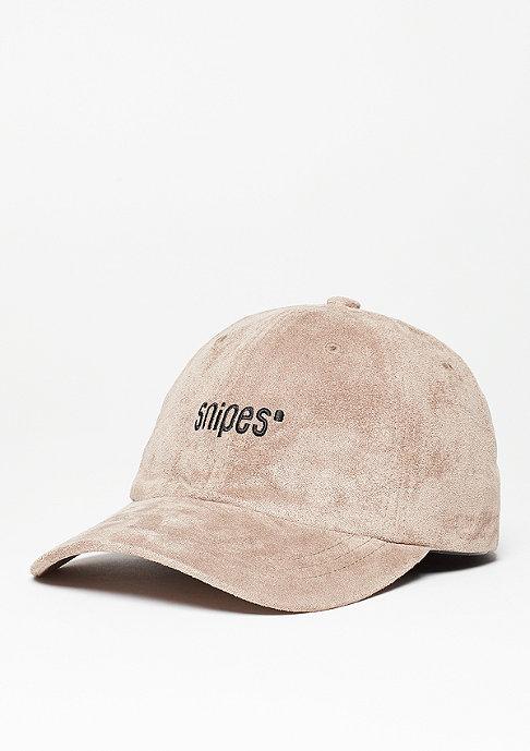 SNIPES Baseball-Cap Velours taupe