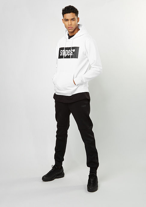 SNIPES Hooded-Sweatshirt Box Logo bright white/black