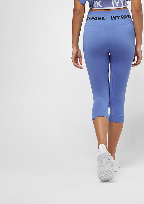 IVY PARK Seamless Knitted Capri wedgewood blue