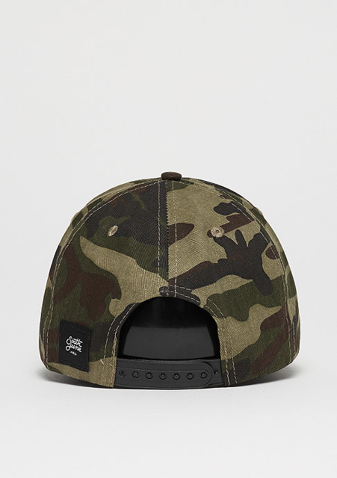 Sixth June Curved Cap Embroidery camo