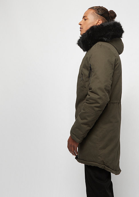 Sixth June Fur Parka khaki/black