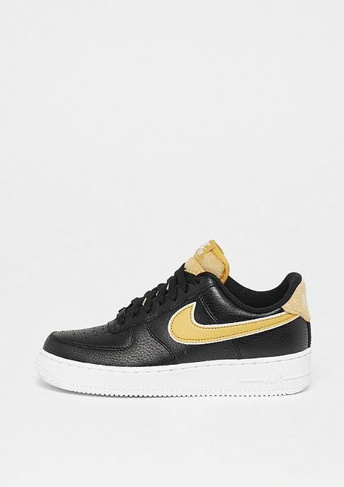 NIKE Air Force 1 black/wheat gold