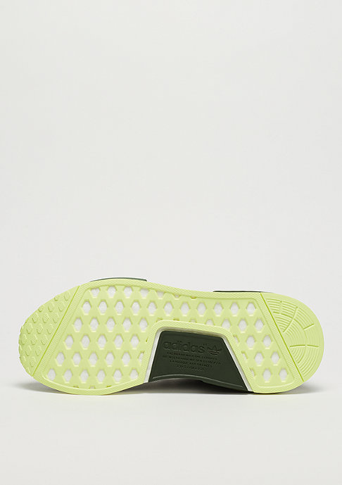 adidas NMD R1 night cargo/base green/semi frozen yellow