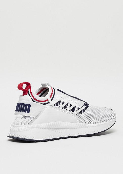 Puma TSUGI Jun Sport Stripes white/peacoat/ribboon red