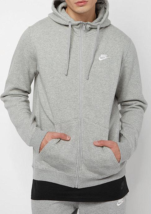 NIKE Sportswear Hoodie darkgrey heather/dark grey heather
