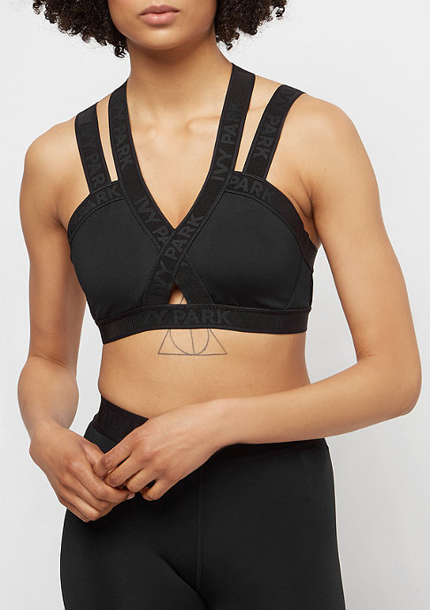 IVY PARK Strappy Harness Bra black