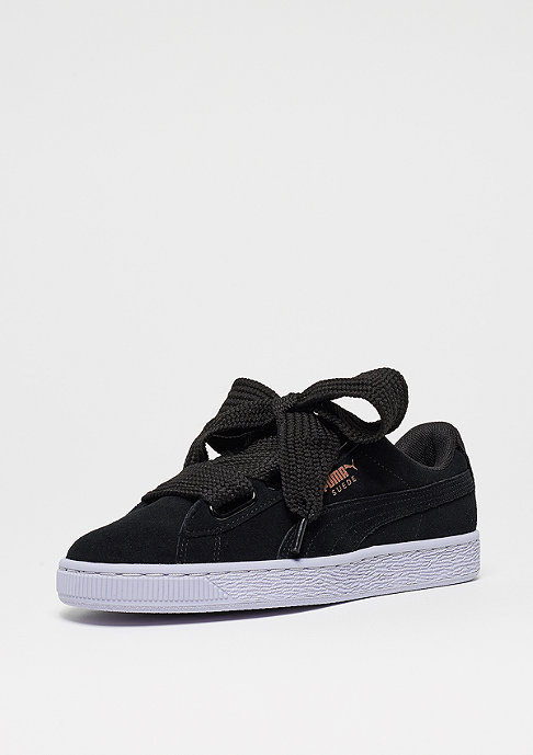 Puma Suede Heart VR Wn's black-rose gold-ic