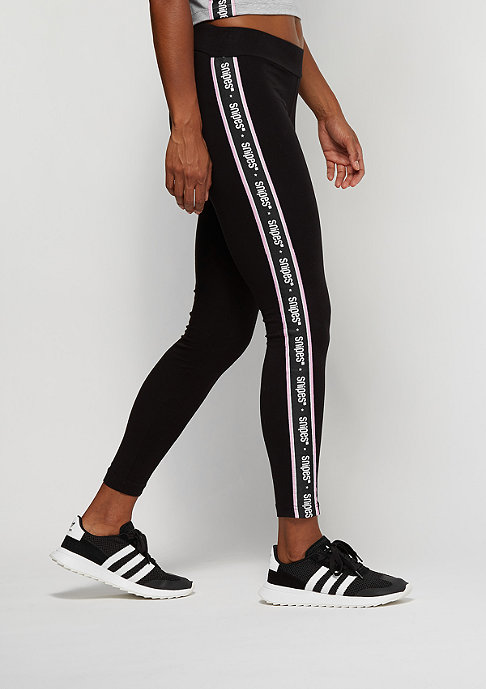 SNIPES Taped Leggings black