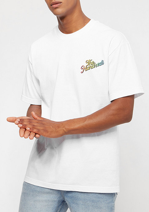 The Hundreds Board Slant white