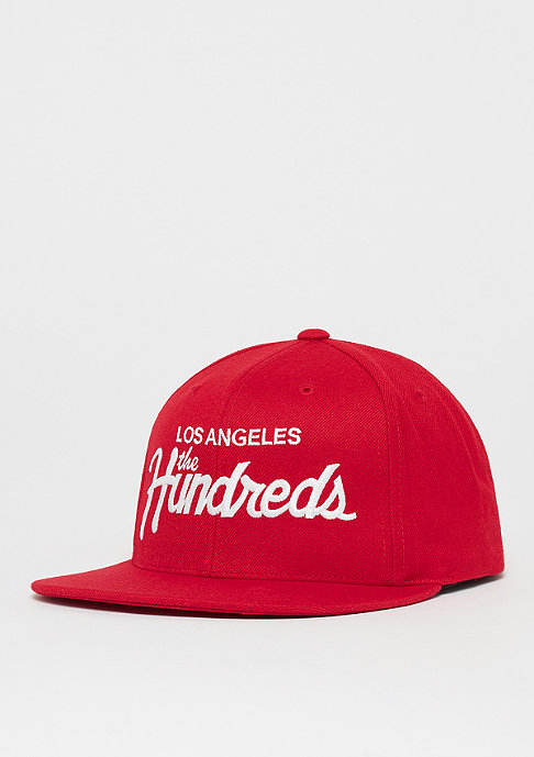 The Hundreds Forever Team red