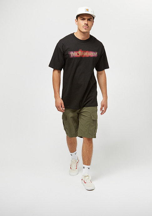 The Hundreds Gone Bar Logo black