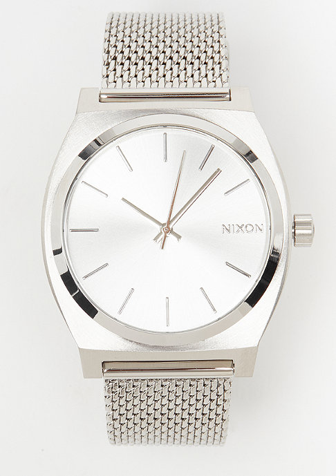 Nixon Time Teller Milanese all silver