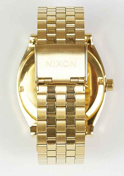 Nixon Time Teller gold/hammered